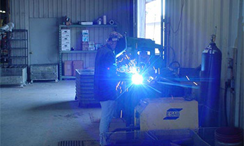 Spray Arc Welding Piers